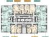 """Схема квартиры в проекте """"Павелецкая Сити""""- #1672786332"""
